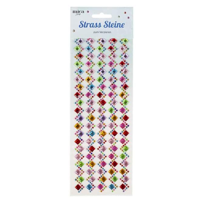Strass-Sticker - Bordüre