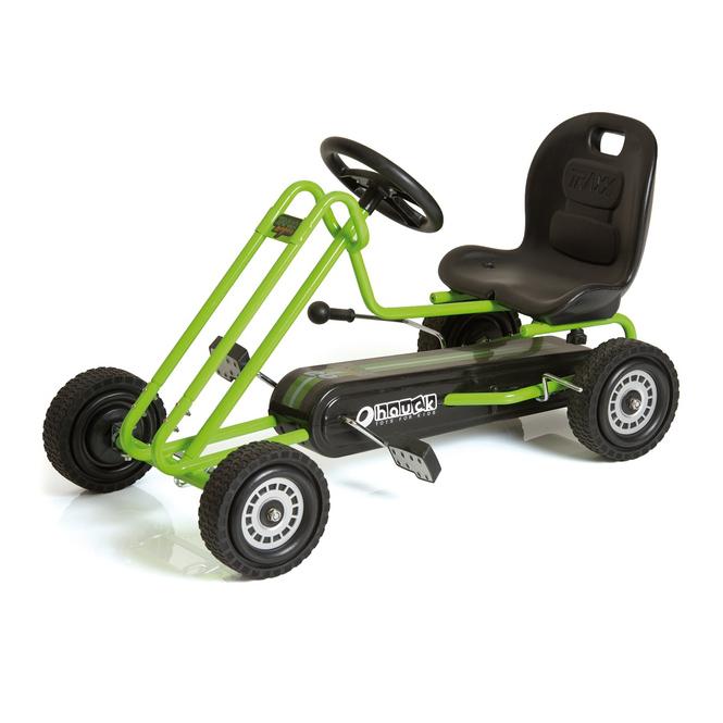 Hauck Go-Kart Lightning - grün/schwarz