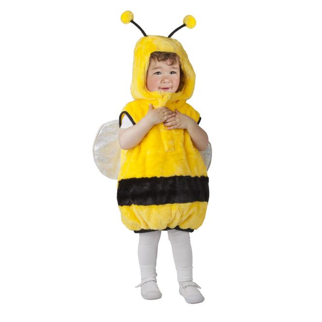 Kinder Kostüm Plüsch Biene