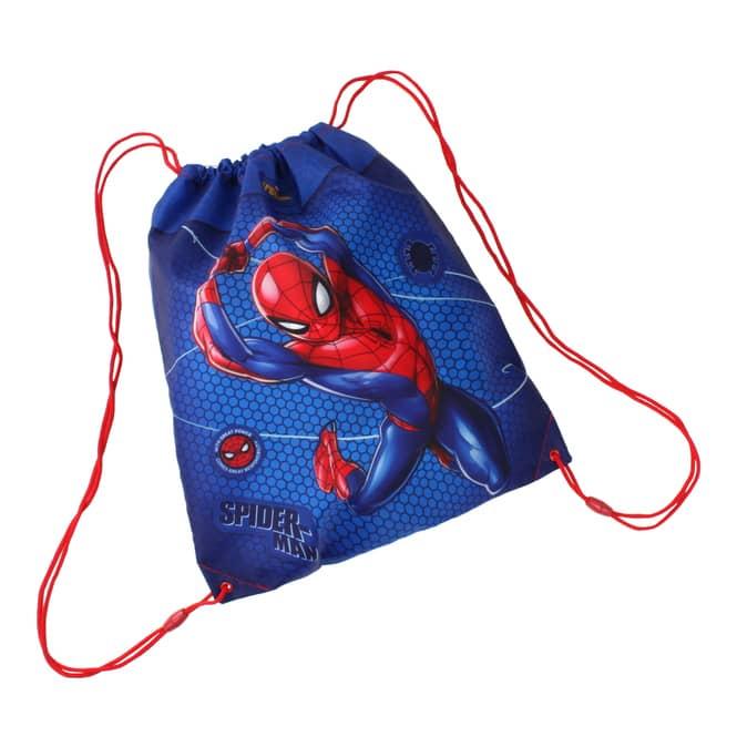 Spiderman - Turnbeutel - blau