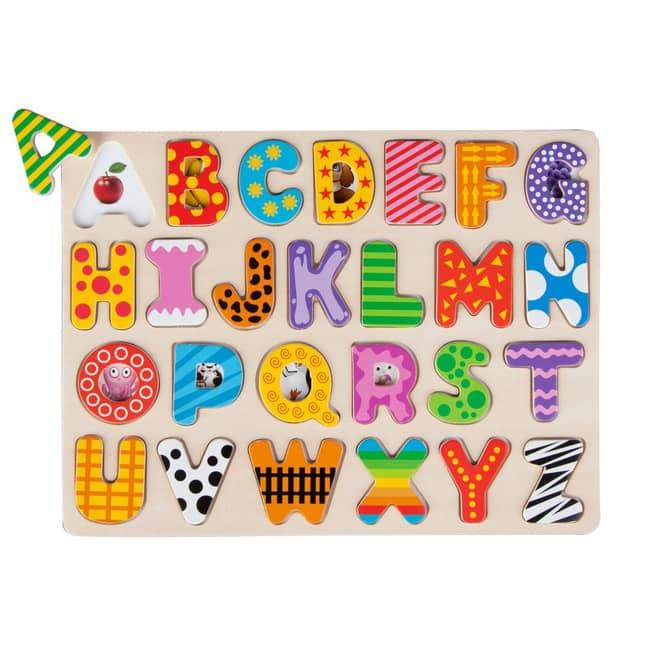 Besttoy - Holz-Puzzle - Alphabet - 26 Teile