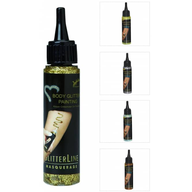 Gel Make-Up - Glitter - 50 ml - verschiedene Farben