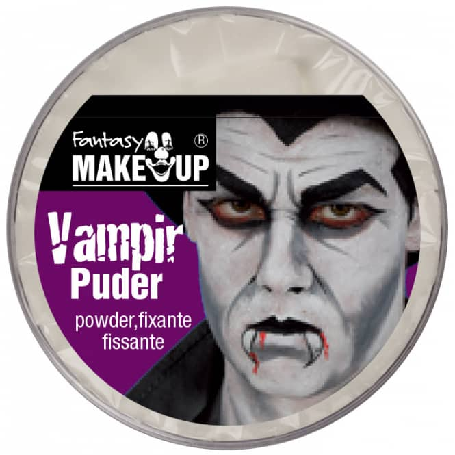 Schminke: Vampir Puder + Schwamm