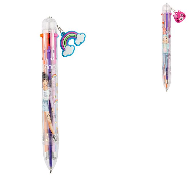 TOP Model - Kugelschreiber mit 6 Tintenfarben - 1 Stück