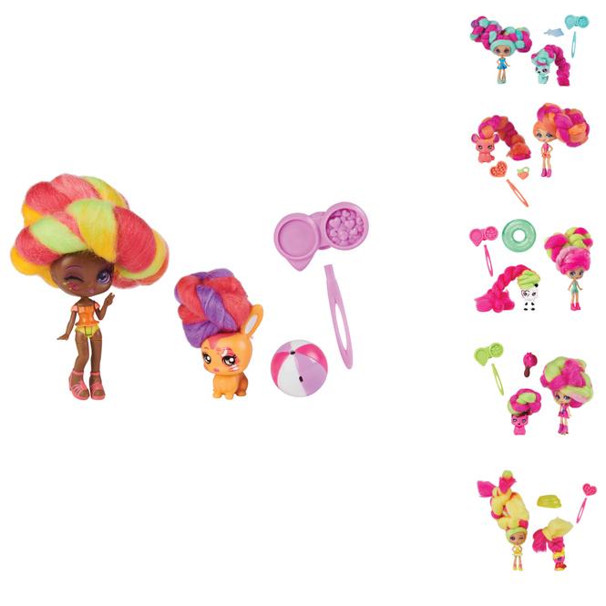 Candylocks - Doll & Pet - 1 Stück
