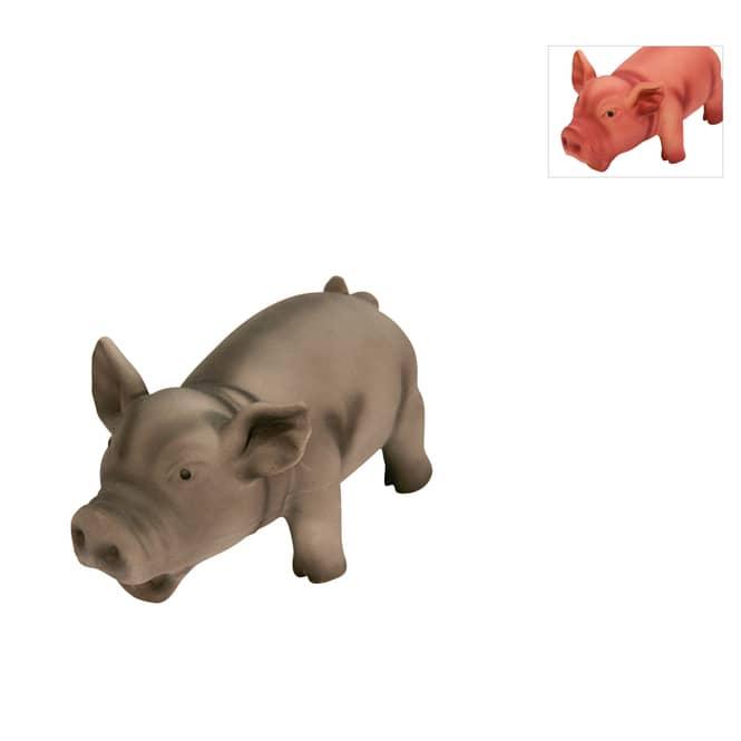 Hundespielzeug - Schwein mit Grunzton - 1 Stück