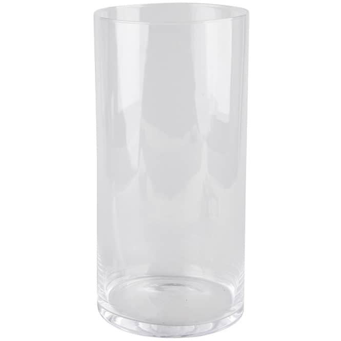 Vase - aus Glas - 20 cm