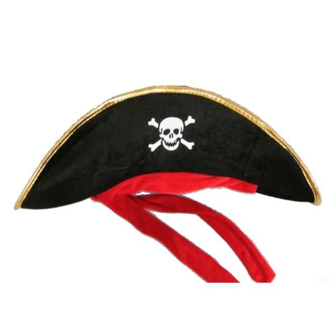 Faschingshut - Pirat - für Erwachsene