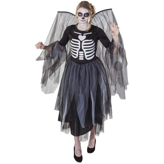 Kostüm - Schwarze Fee - für Erwachsene - 2-teilig
