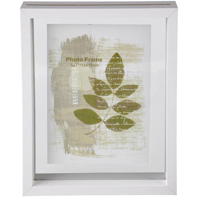 Bilderrahmen - aus Holz  - 19 x 23,5 x 4 cm