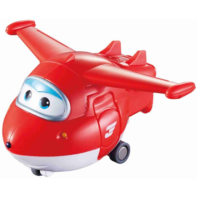 Super Wings - Transformer Spielfigur - Jett - ca. 5 cm