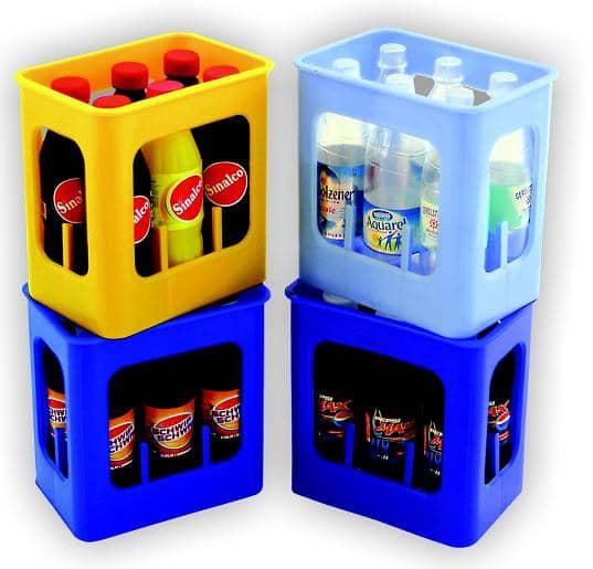 getr nkekiste mit 6 flaschen tanner kaufladenzubeh r g nstig online kaufen. Black Bedroom Furniture Sets. Home Design Ideas