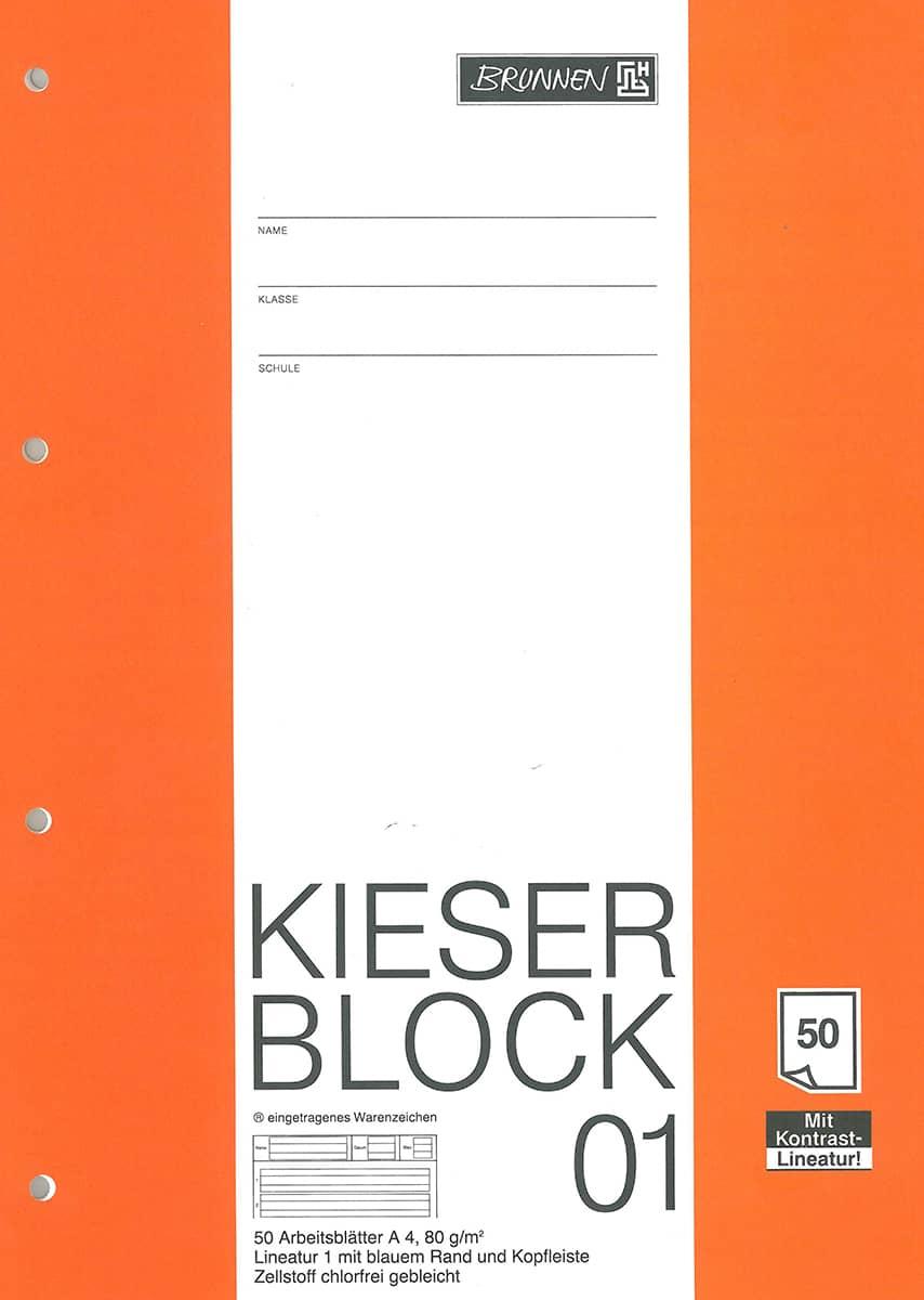 Kieserblock Nr. 01, 1. Klasse gu00fcnstig online kaufen : MIFUS.de