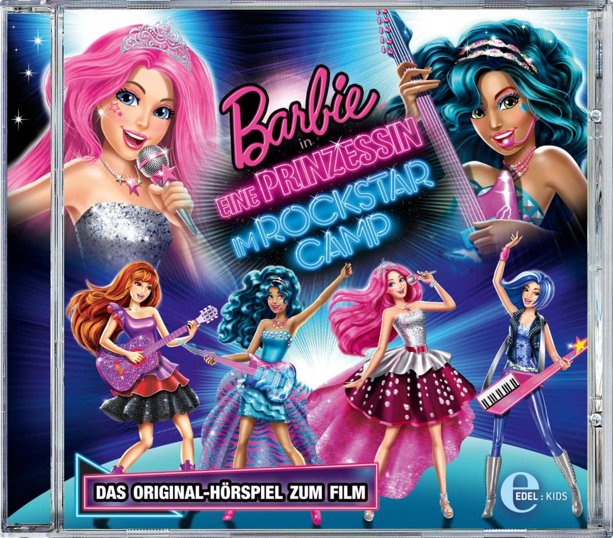 barbie eine prinzessin rockstar camp wattiert