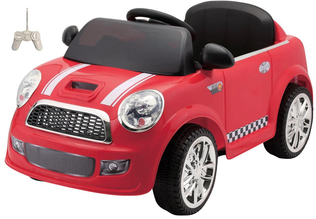 elektroauto f r kinder 6v mini in rot g nstig online. Black Bedroom Furniture Sets. Home Design Ideas