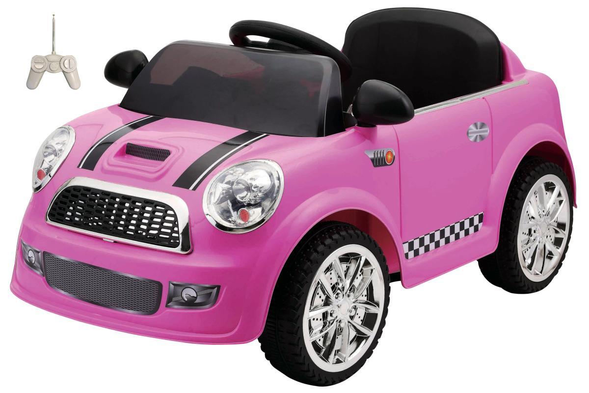 elektroauto f r kinder 6v mini in pink g nstig. Black Bedroom Furniture Sets. Home Design Ideas