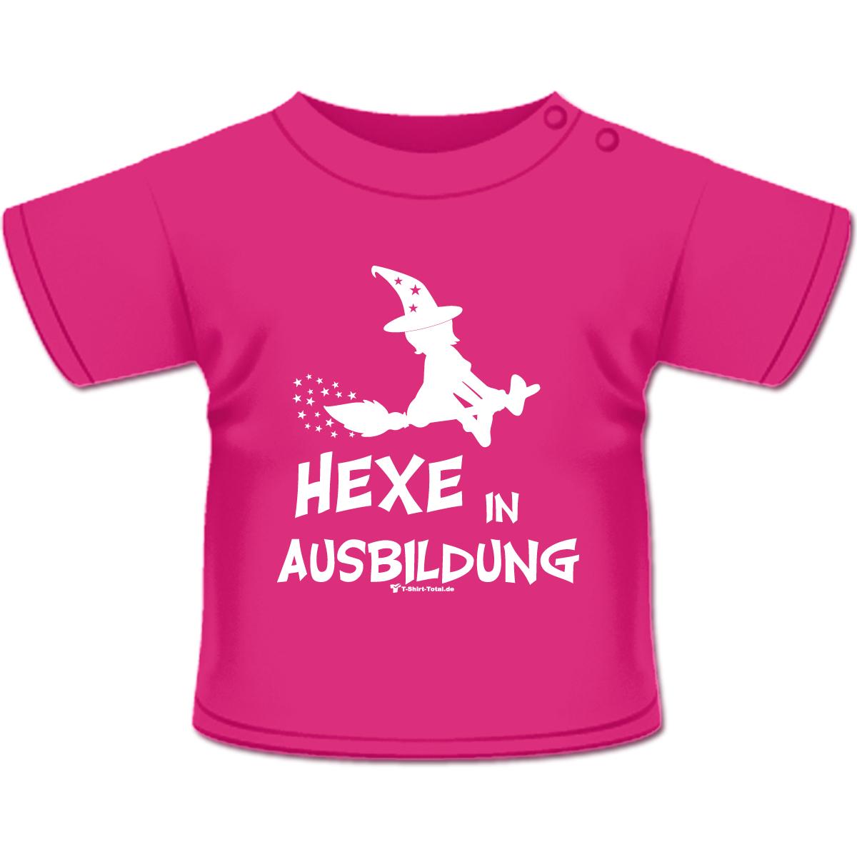 hexe in ausbildung t shirt pink g nstig online kaufen. Black Bedroom Furniture Sets. Home Design Ideas
