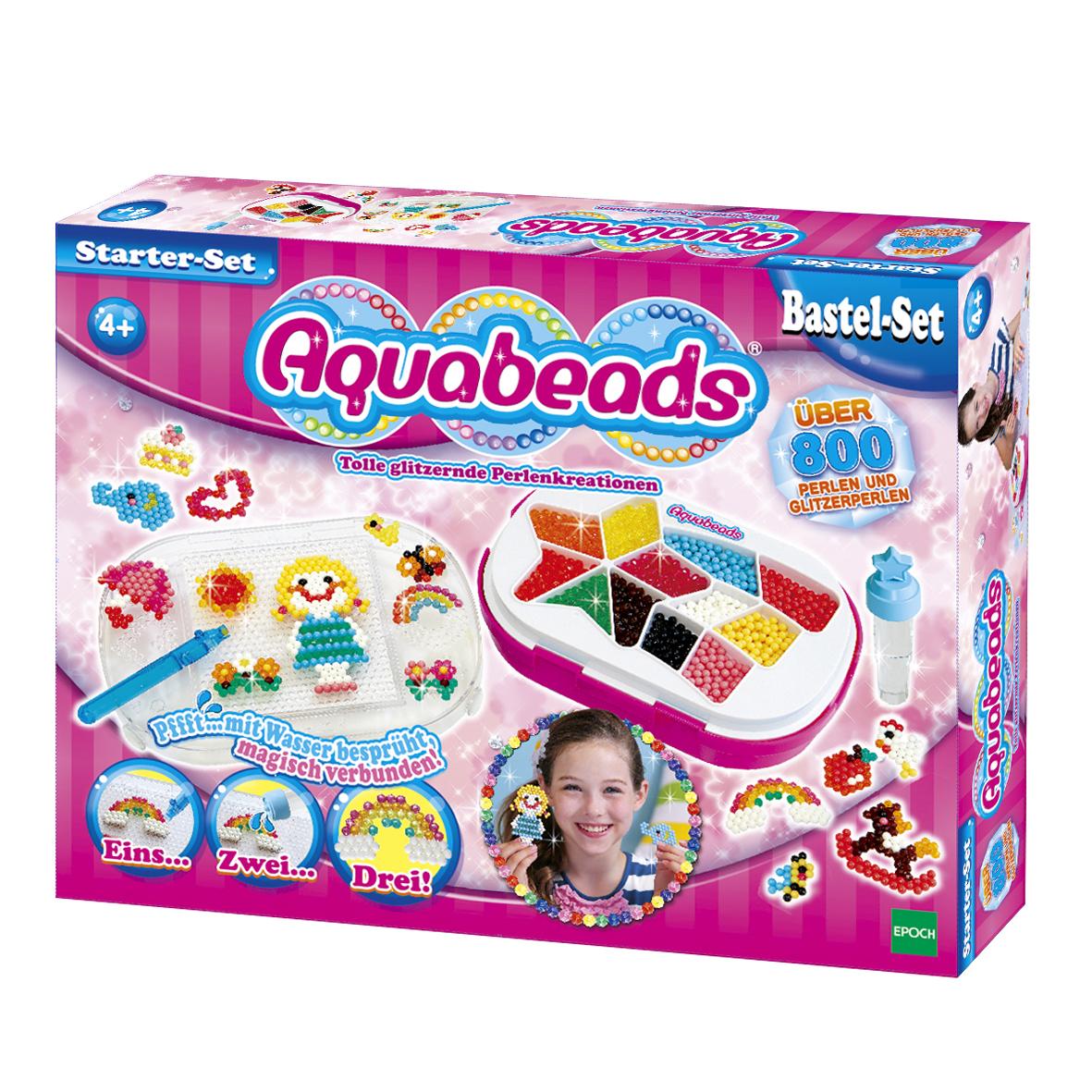aquabeads bastelset starter set 79308. Black Bedroom Furniture Sets. Home Design Ideas