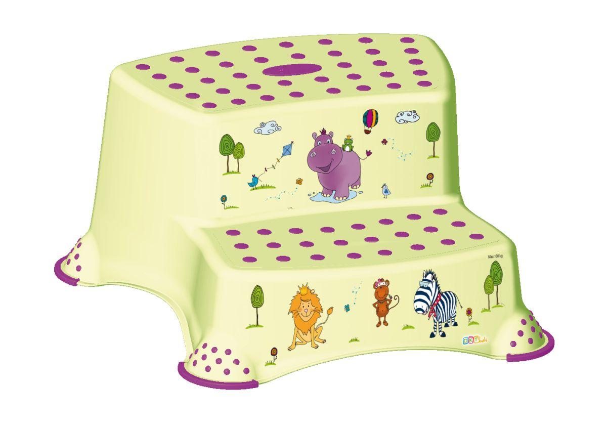 tritthocker hippo zweistufig g nstig online kaufen. Black Bedroom Furniture Sets. Home Design Ideas