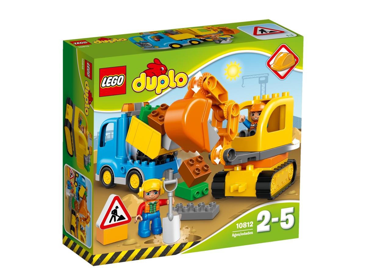 Lego duplo 10812 bagger lastwagen g nstig online for Adventskalender duplo