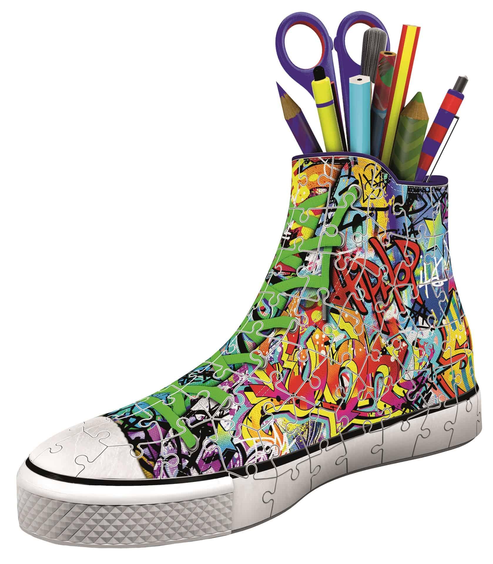 3d Puzzle Sneaker Graffiti Style Ravensburger G Nstig