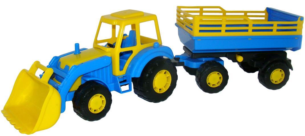 traktor mit frontlader und anh nger kaufen. Black Bedroom Furniture Sets. Home Design Ideas