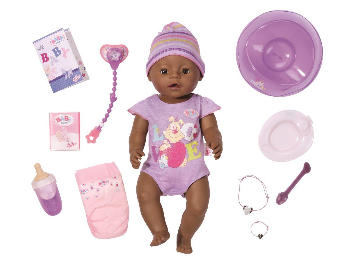 baby born interactive ethnic puppe g nstig online kaufen. Black Bedroom Furniture Sets. Home Design Ideas