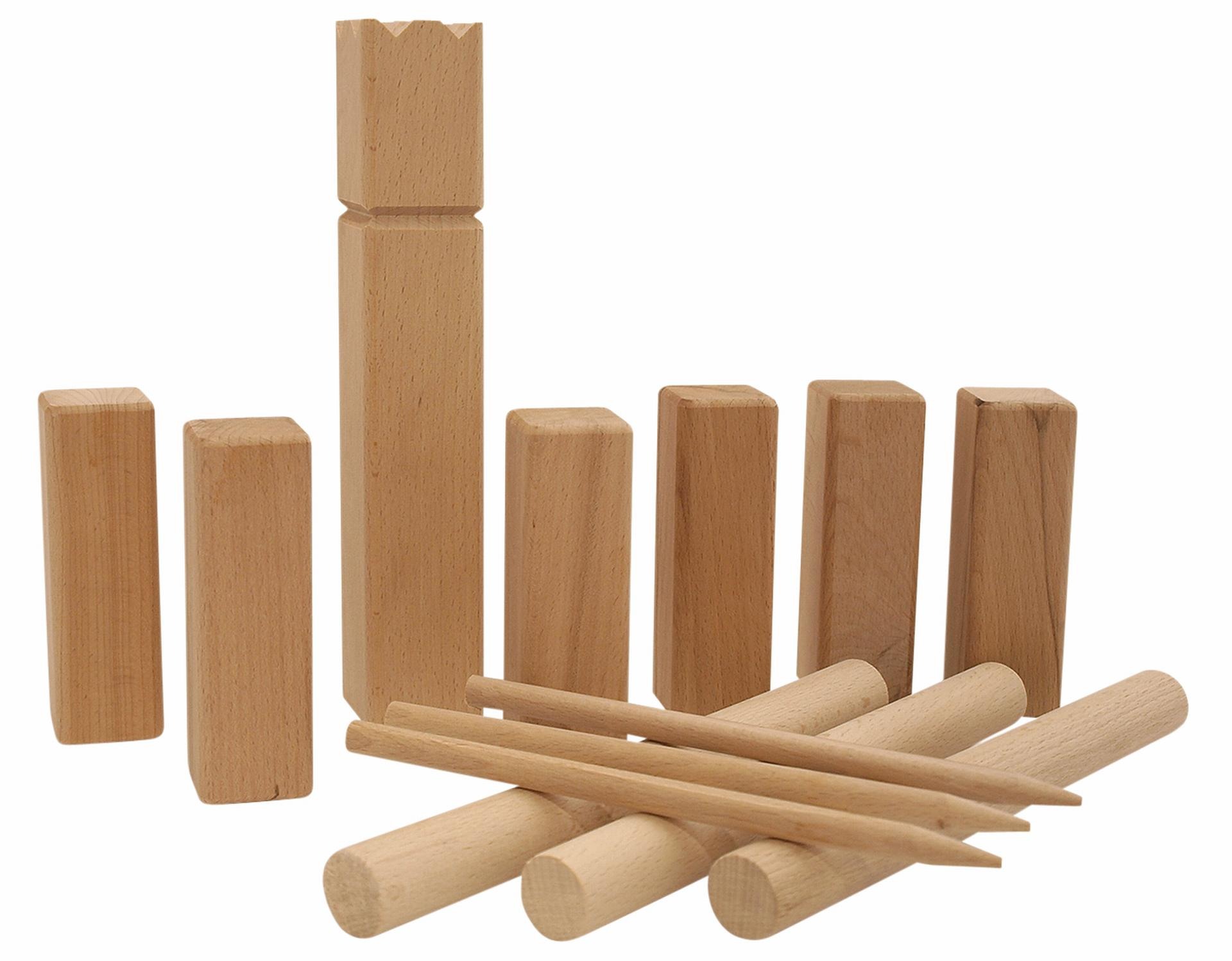 freiluftspiel super kubb junior g nstig online kaufen. Black Bedroom Furniture Sets. Home Design Ideas