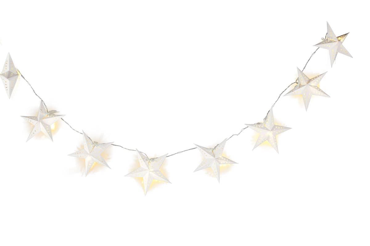 Lichterkette papiersterne g nstig online kaufen for Lichterkette kaufen