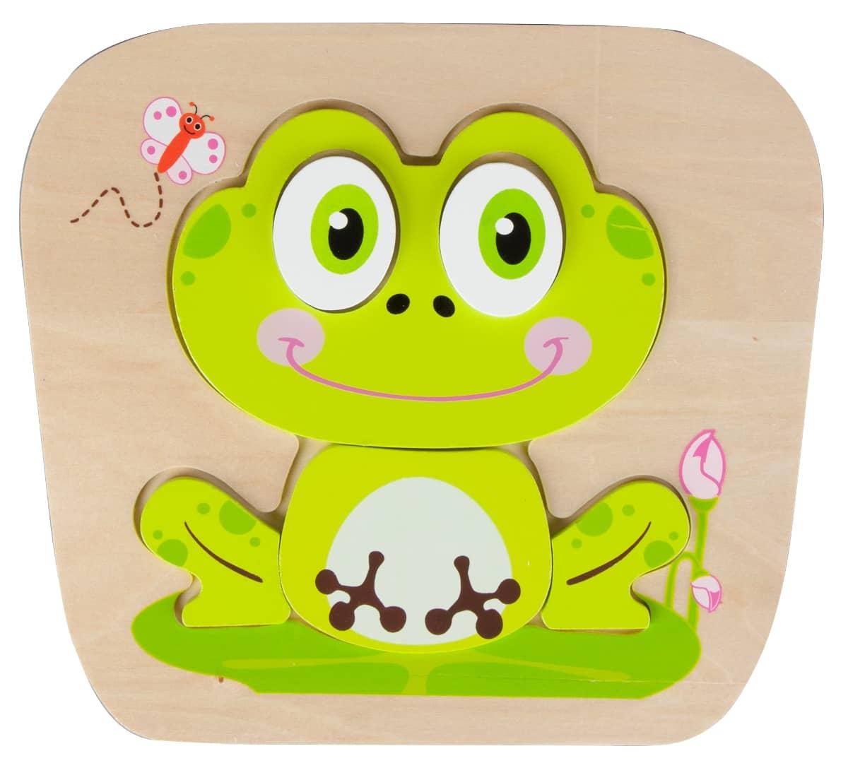 Holz Puzzle Frosch gu00fcnstig online kaufen : MIFUS.de
