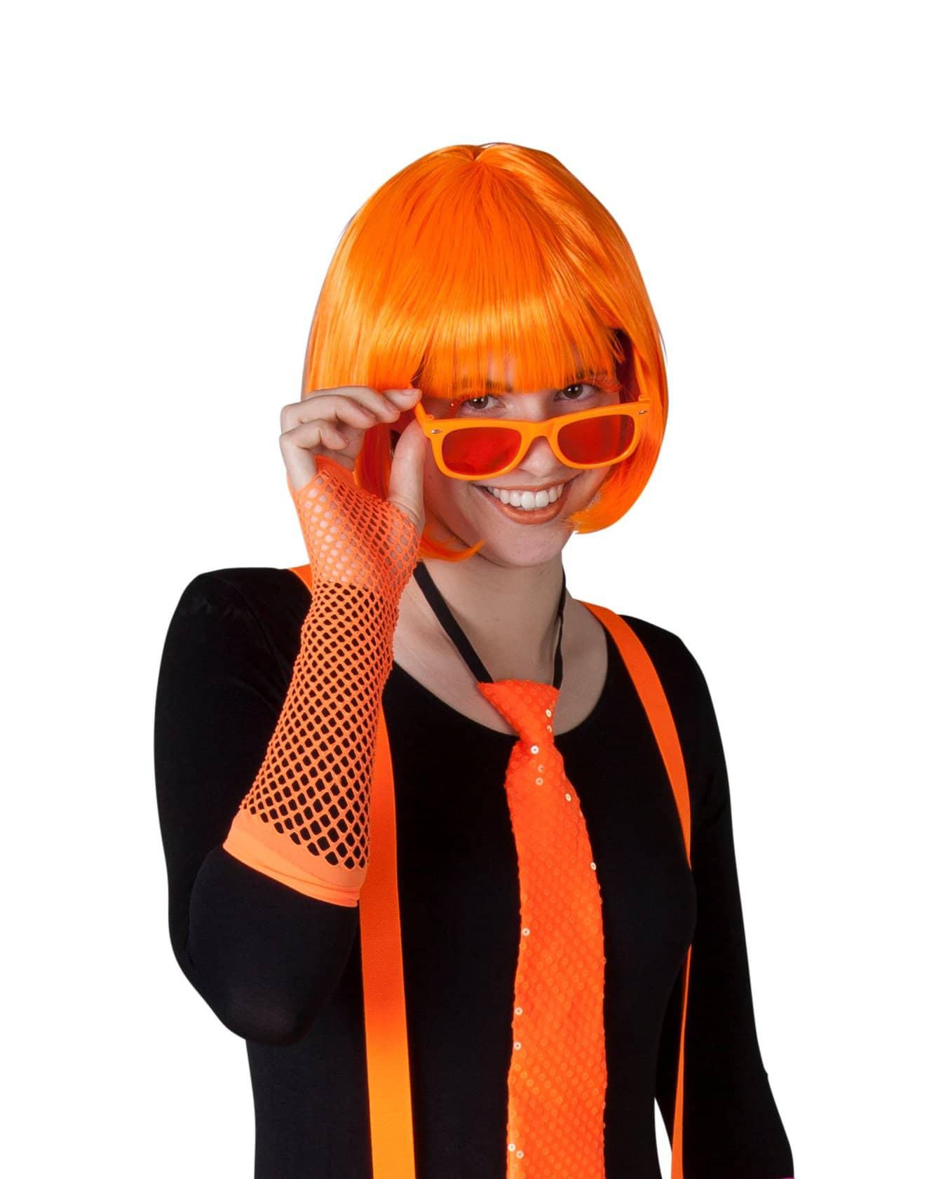 netzhandschuhe 1 paar f r erwachsene orange g nstig online kaufen. Black Bedroom Furniture Sets. Home Design Ideas