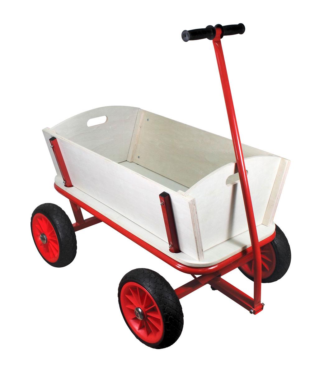 bollerwagen mit pu reifen und metallrahmen g nstig online kaufen. Black Bedroom Furniture Sets. Home Design Ideas