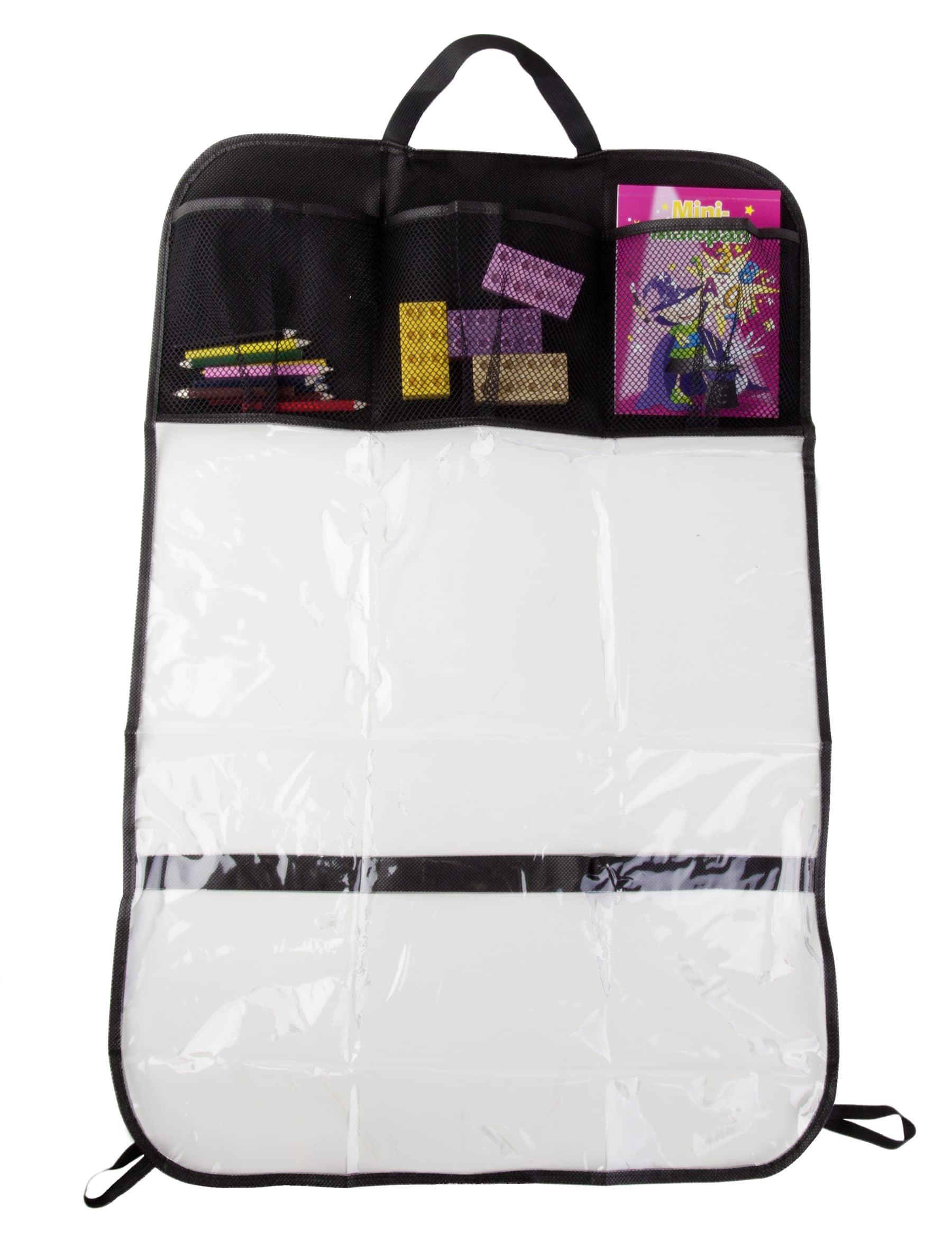 autositz r ckenlehnenschutz mit taschen g nstig online kaufen. Black Bedroom Furniture Sets. Home Design Ideas