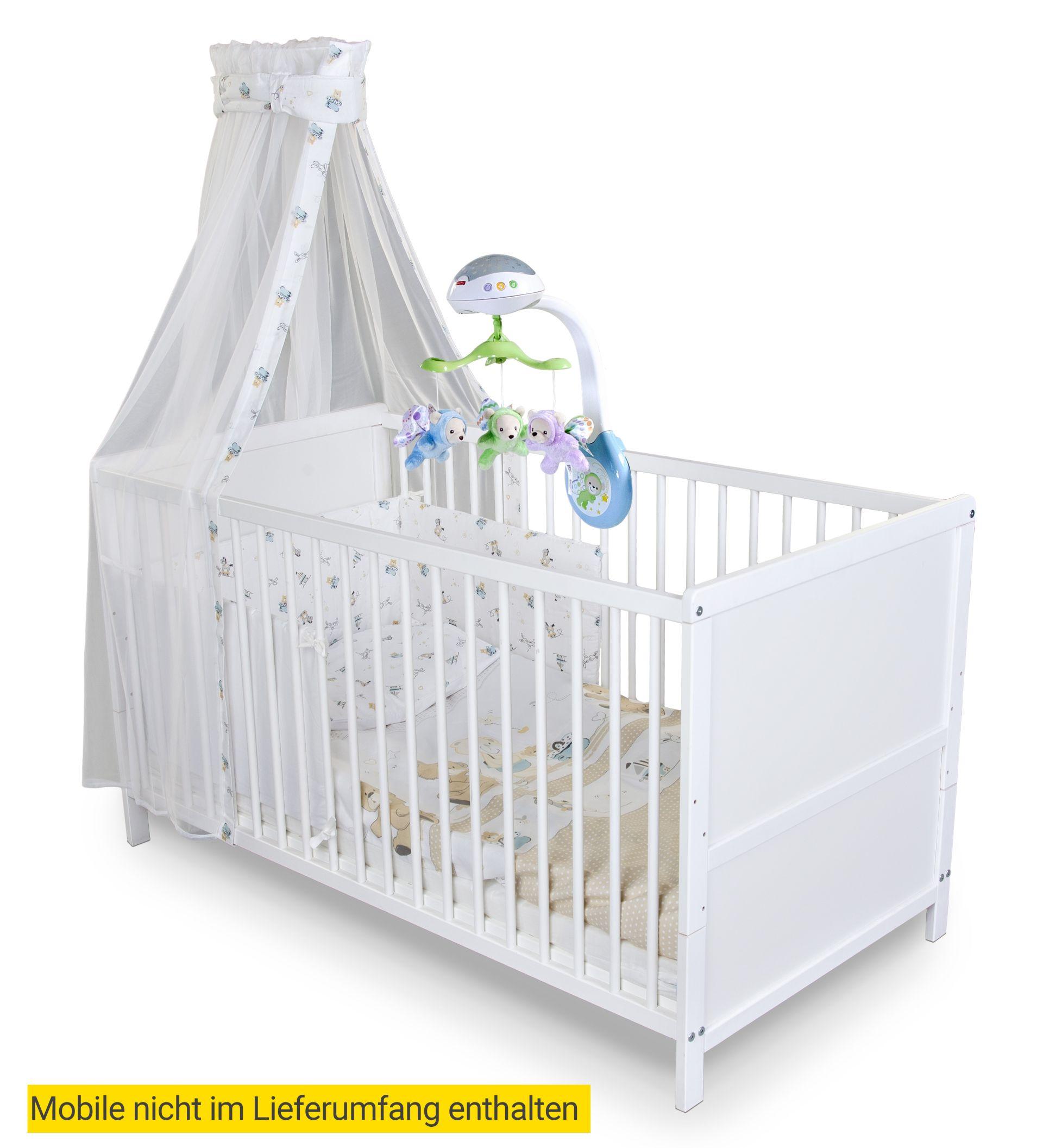 Kinderbett komplett set b renfamilie wei g nstig - Kinderbett set ...
