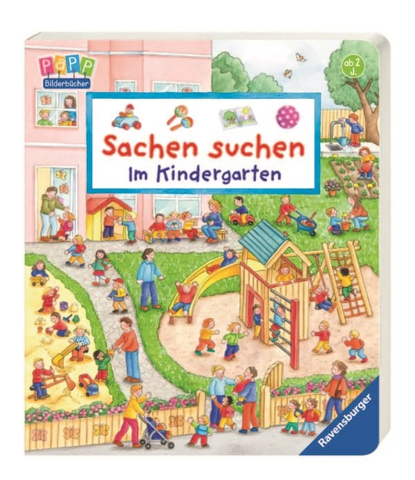 sachen suchen im kindergarten ravensburger g nstig online kaufen. Black Bedroom Furniture Sets. Home Design Ideas
