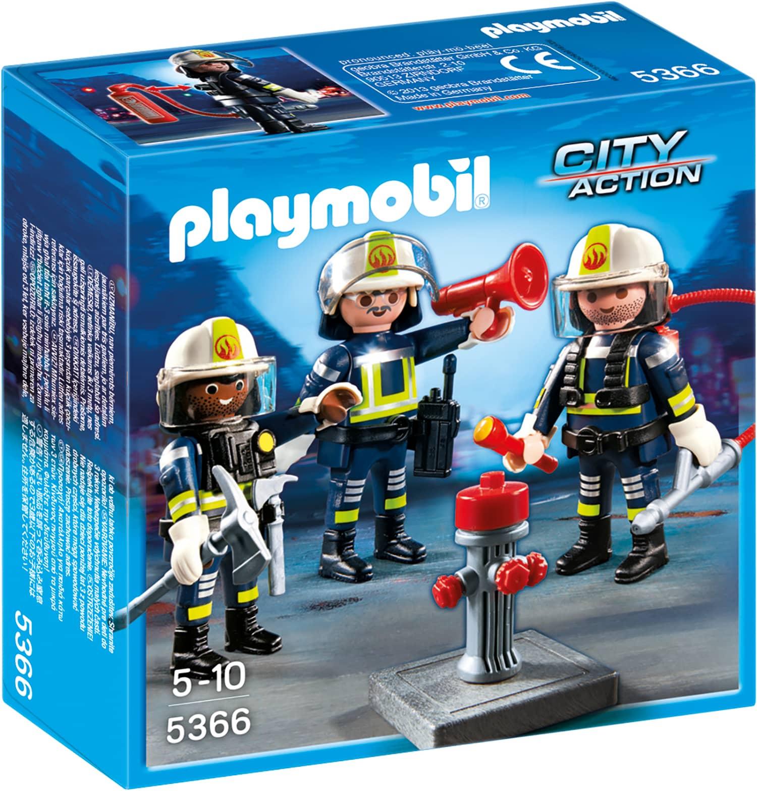 playmobil 5366 feuerwehr team playmobil city action. Black Bedroom Furniture Sets. Home Design Ideas