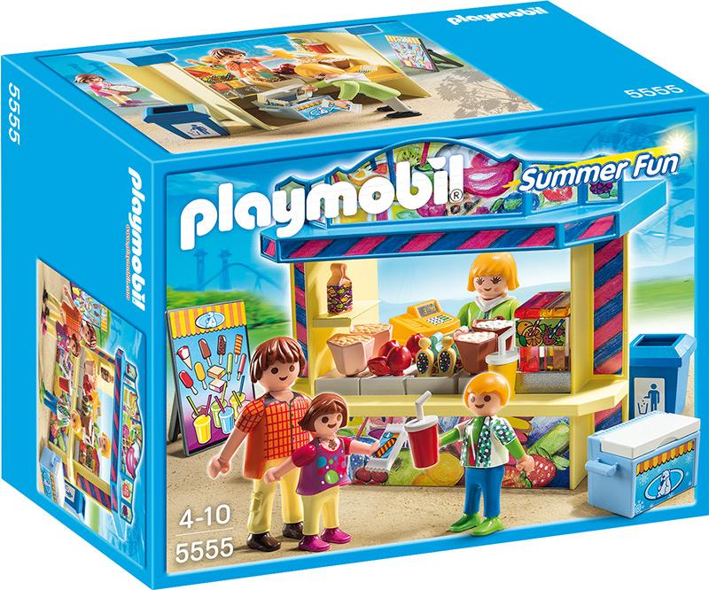 playmobil 5555 s igkeitenstand playmobil summer fun. Black Bedroom Furniture Sets. Home Design Ideas