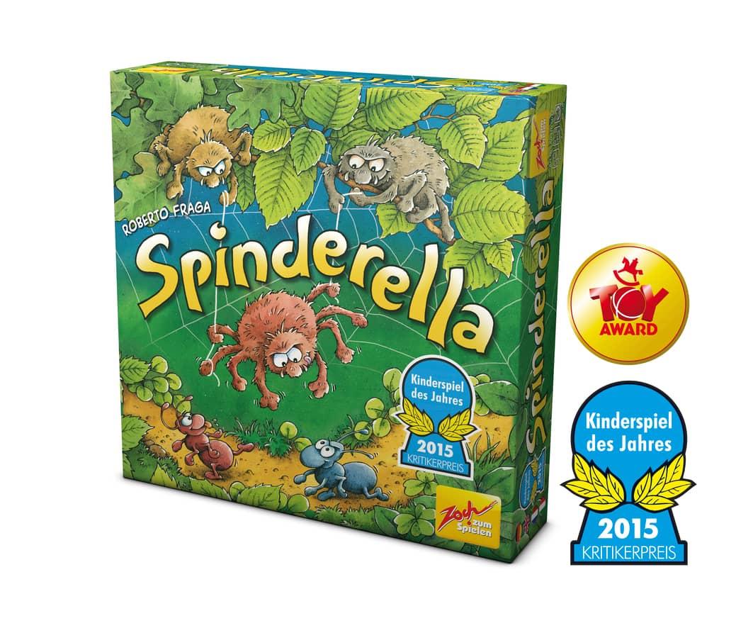 Spinderella Spiel