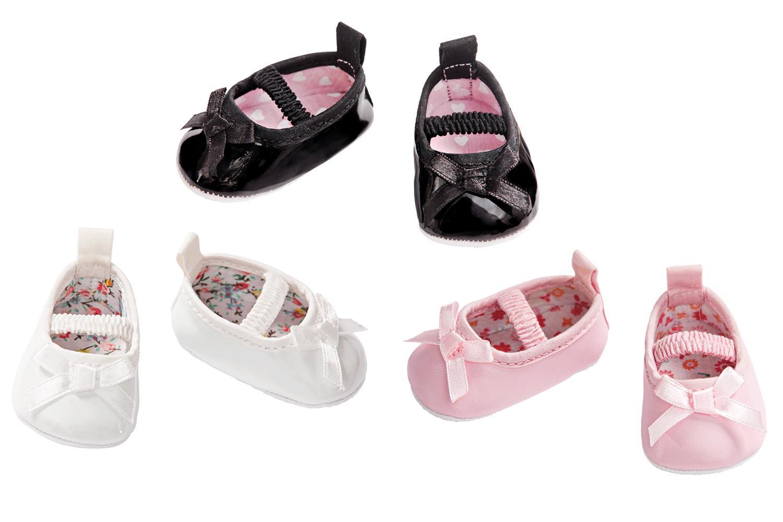puppenschuhe ballerinas mit schleife g nstig online. Black Bedroom Furniture Sets. Home Design Ideas
