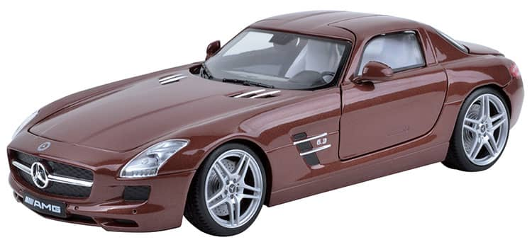 mercedes benz sls amg modellauto 1 18 g nstig online. Black Bedroom Furniture Sets. Home Design Ideas