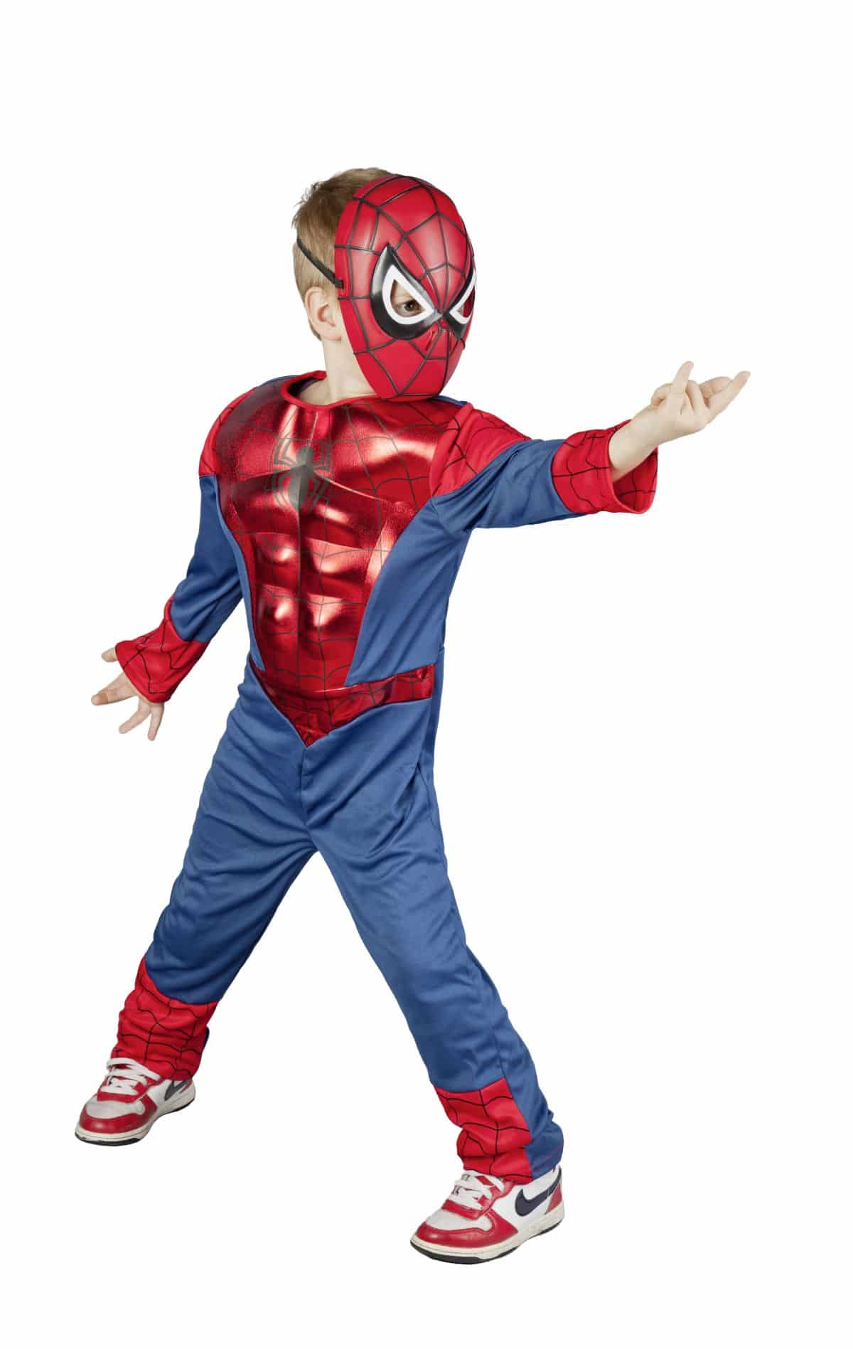 ultimative spiderman kost m muscle chest f r kinder g nstig online kaufen. Black Bedroom Furniture Sets. Home Design Ideas