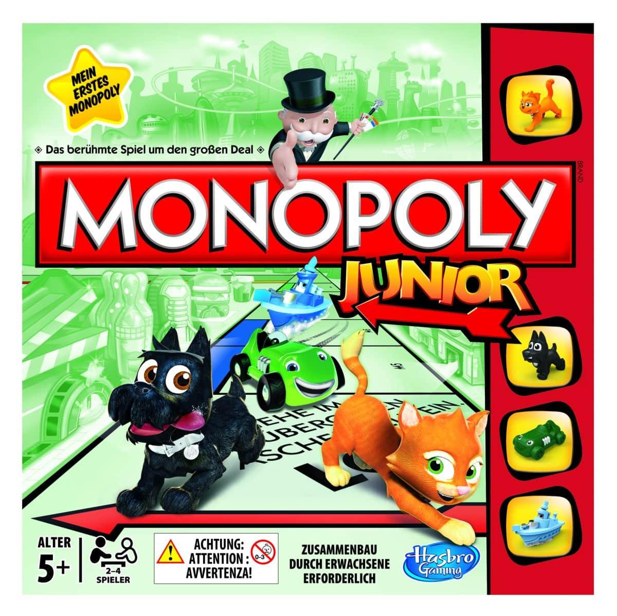 monopoly junior online spielen