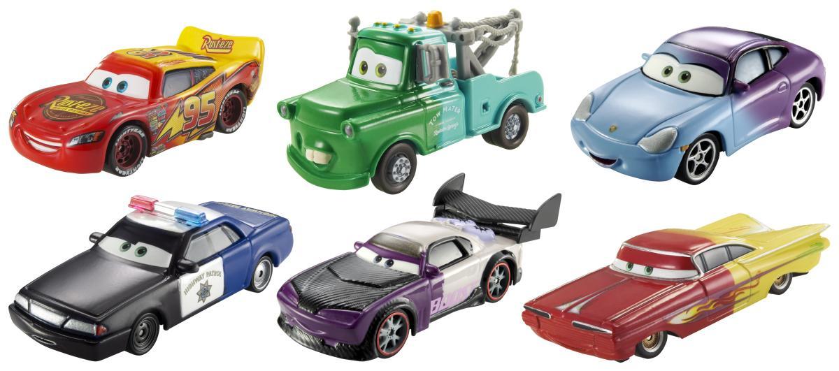 Cars farbwechsel fahrzeuge zwei lackierungen 1 55 for Cars autootjes