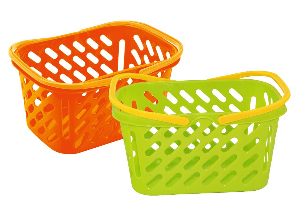 einkaufskorb f r kinder gr n oder orange g nstig online kaufen. Black Bedroom Furniture Sets. Home Design Ideas