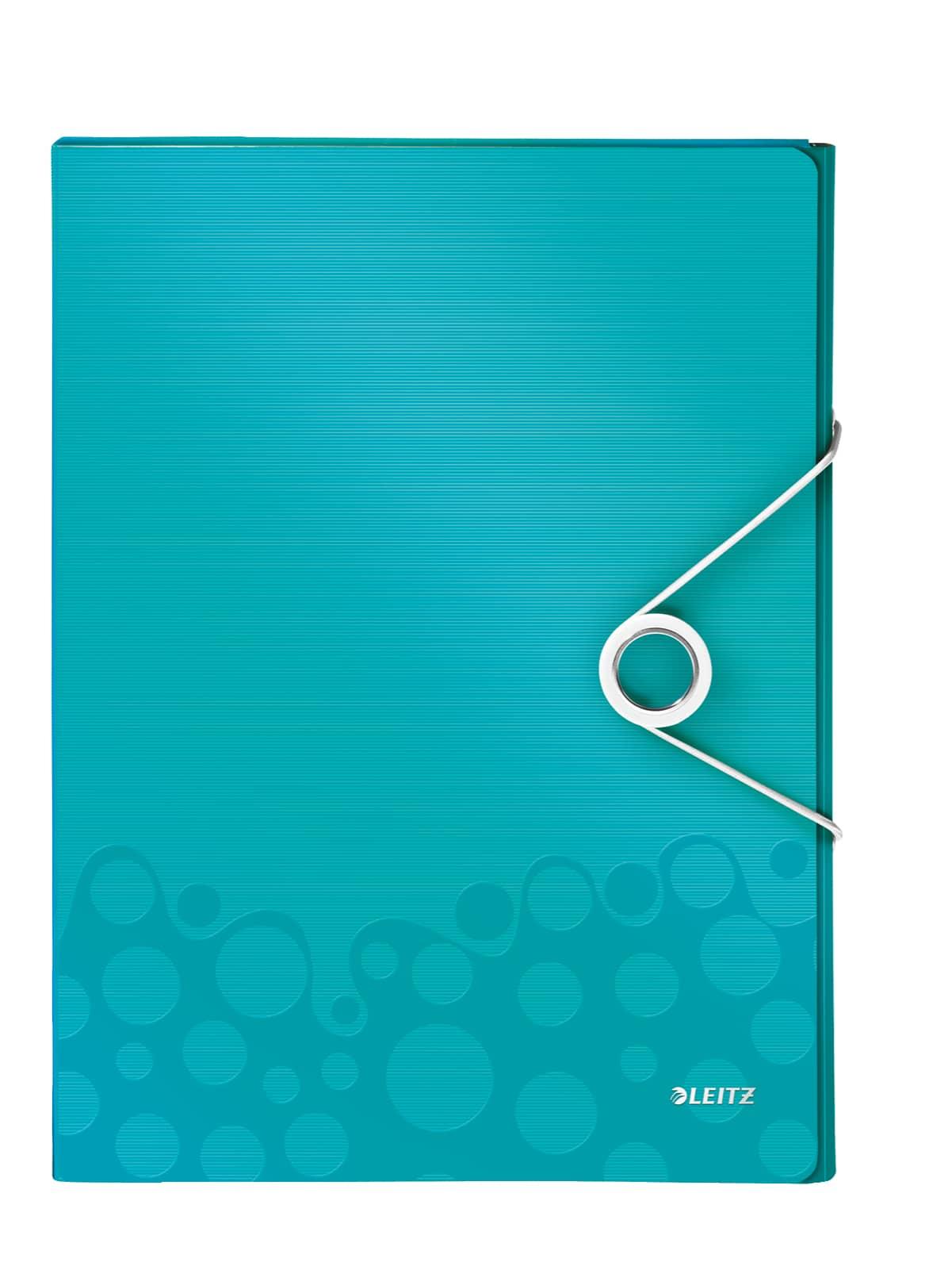 Leitz Heftbox Wow A4 Eisblau G Nstig Online Kaufen