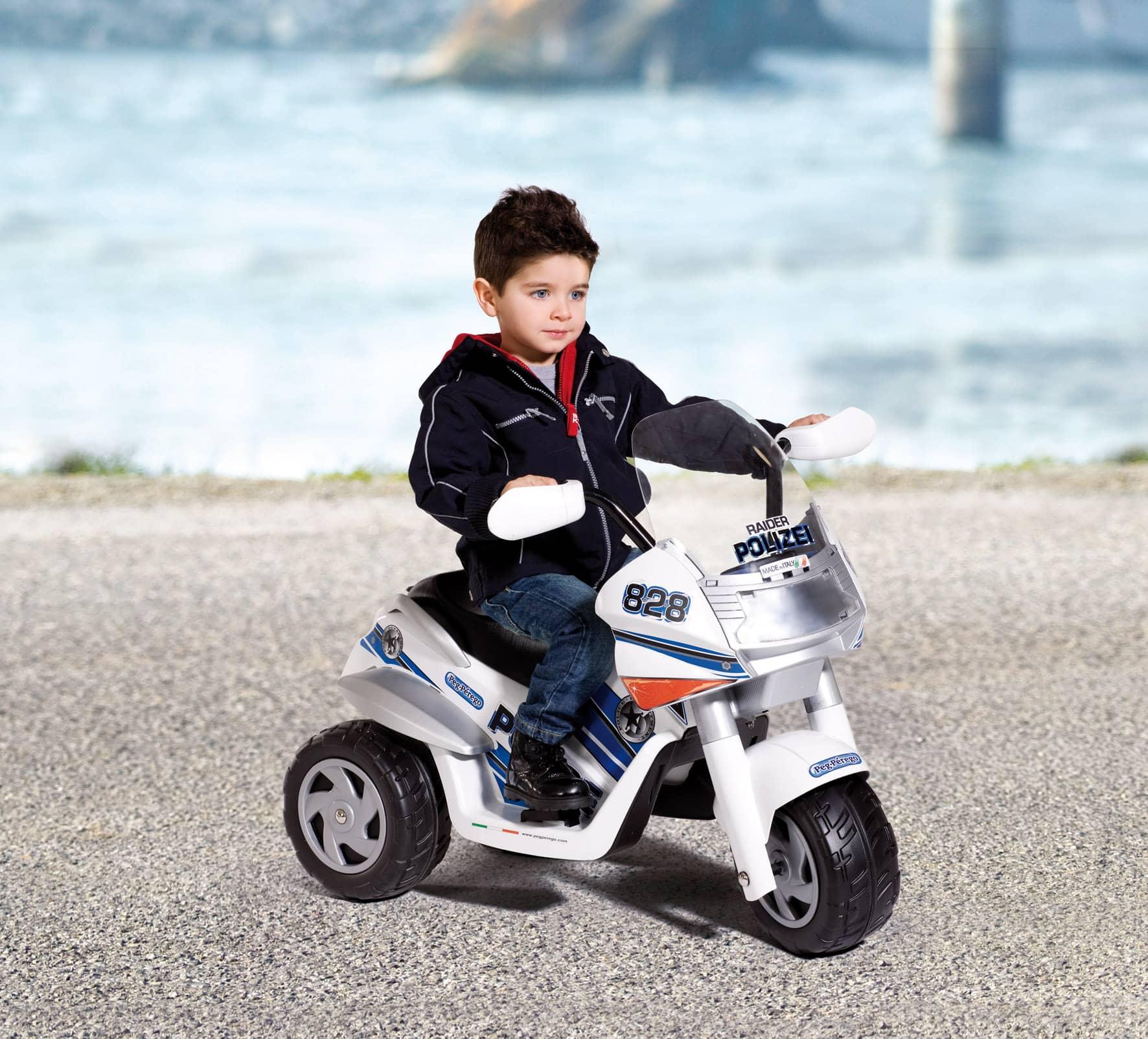elektro motorrad 6v raider polizei kaufen. Black Bedroom Furniture Sets. Home Design Ideas