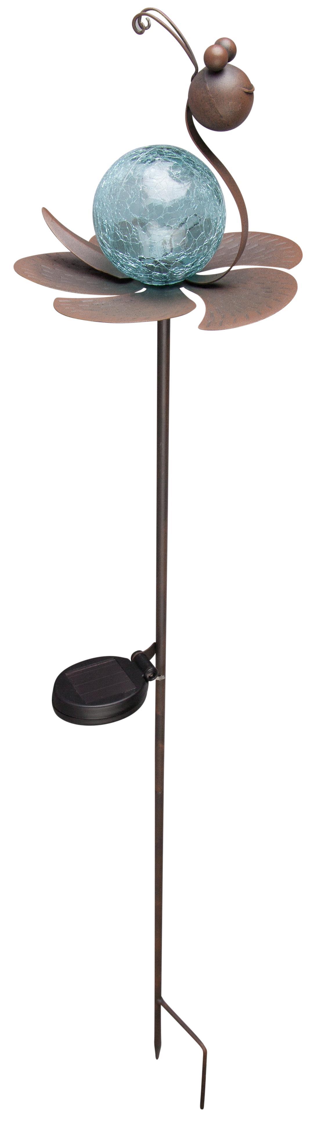 pflanzenstecker mit solarlampe schnecke 1 st ck g nstig online kaufen. Black Bedroom Furniture Sets. Home Design Ideas
