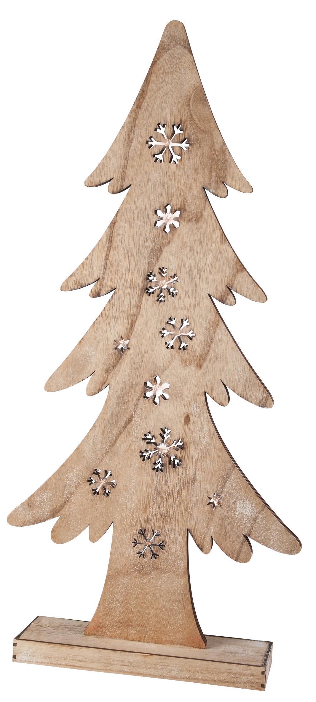 tannenbaum aus holz mit beleuchtung 39 5x10x82 cm g nstig online kaufen. Black Bedroom Furniture Sets. Home Design Ideas