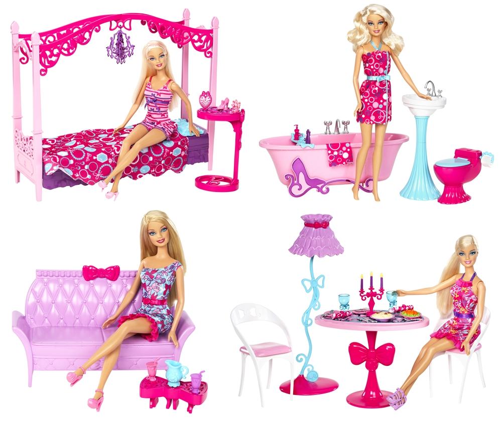 barbie wohnzimmer m bel wohndesign und inneneinrichtung. Black Bedroom Furniture Sets. Home Design Ideas