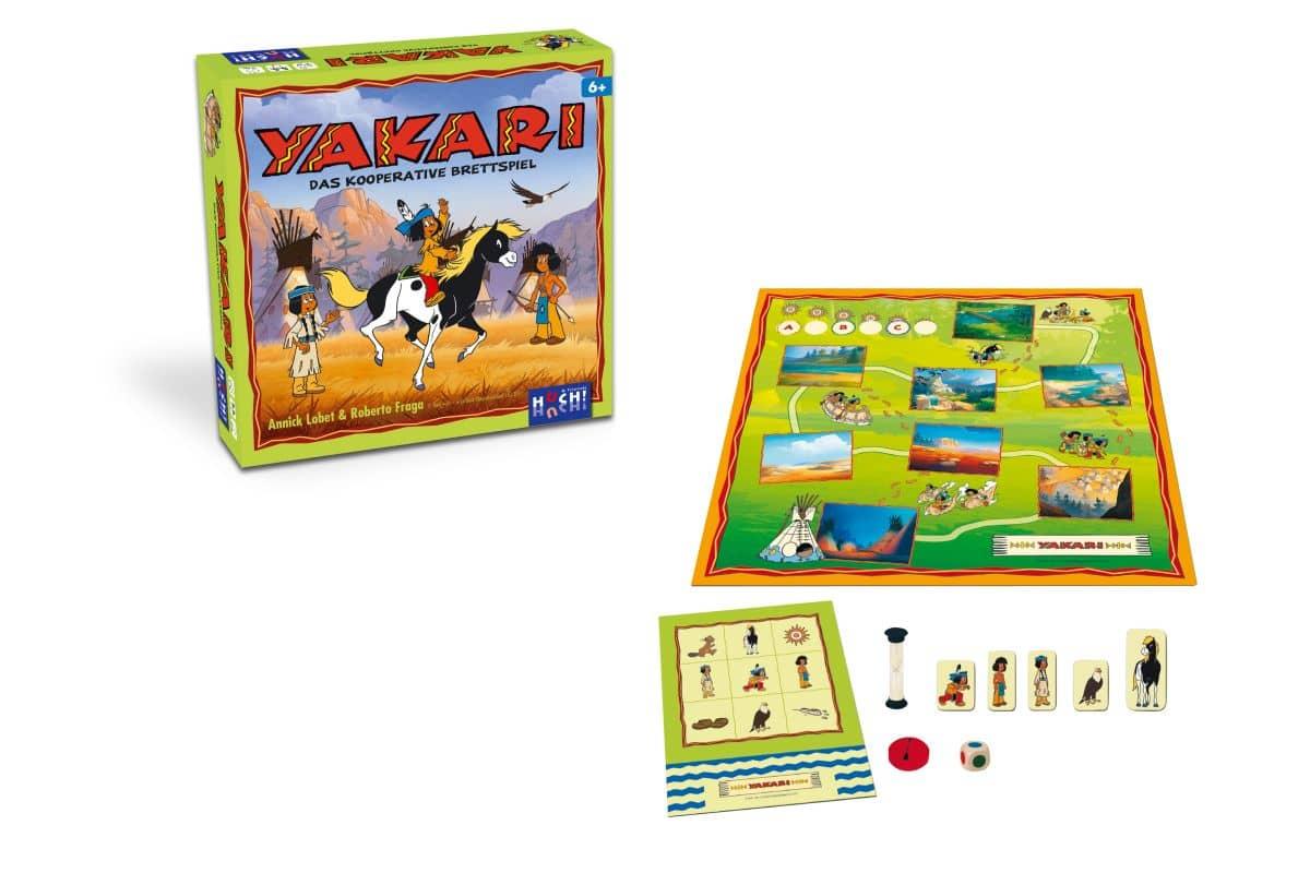 yakari spiele